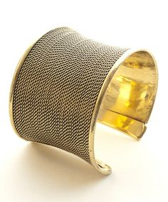 Another great find on #zulily! Gold Pharaoh Adjustable Cuff #zulilyfinds