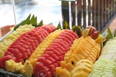1568007-Plato-de-corte-frutas-tropicales-pi-a-sand-a--Foto-de-archivo.jpg (1300×866)