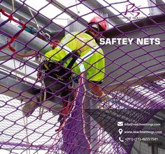 Choose the Right #SafetyNetting Systems for your construction business to catch debris, personnel or both! #scaffoldingnets #NettingSolutions