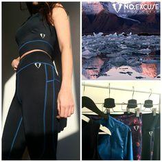 #black #set #clothes #sport #noexcuse #noexcs #gymwear #sportswear #girl #woman #leggins