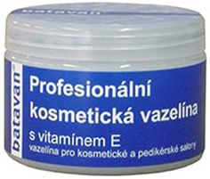 Vazelína - kabinetné balenie - kozmetická vazelína s vitamínom E - 400ml