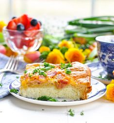 This breakfast casserole recipe is an easy, crowd-pleasing dish that is PERFECT for Easter brunch! Egg And Cheese Casserole, Bacon Egg And Cheese, Breakfast Casserole, Crescent Rolls, Crescent Roll Recipes, Beef Casserole Recipes, Pork Recipes, Cooking Recipes, Egg Recipes