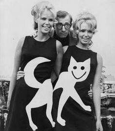 The cat's meow...and Woody Allen #cat #meow #woodyallen