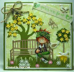 Anja Zom card blog 3d Cards, Cute Cards, Window Cards, Beautiful Handmade Cards, Die Cut Cards, Marianne Design, Card Tutorials, Cardmaking, Birthday Cards
