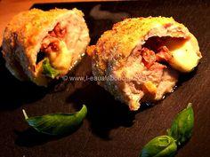 Cordons Bleus au Jambon de Parme/Mozzarella/Basilic