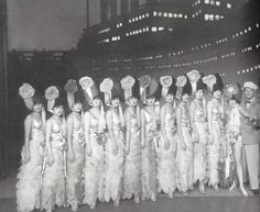A Berlin stage revue from the 1920s.