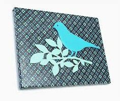 Image result for canvas fabric bird