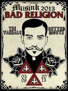 GigPosters.com - Bad Religion