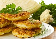 There are more exciting ways to serve up the goodness of cauliflower than cauliflower cheese! Try these delicious Italian-inspired fritters for a tasty treat. Most Nutritious Vegetables, Nutritious Meals, Veggies, Cauliflower Fritters, Cauliflower Cheese, Corn Fritters, Entree Recipes, Healthy Recipes, Vegetable Recipes