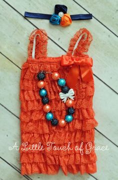Orange petti romper set. Alittletouchofgrace . Orange navy turquoise baby outfit. Fall baby outfit. Fall photos.Hey, I found this really awesome Etsy listing at https://www.etsy.com/listing/244852586/orange-aqua-and-navy-petti-romper-set