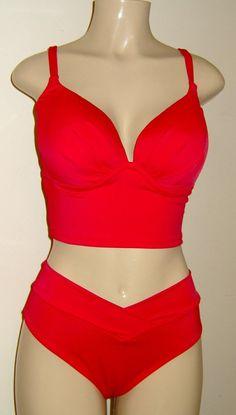 323aff5dd95ff Tankini Push Up Swimwear Underwire Top  Criss-Cross Band Bikini Bottoms   Swimsuit tankinis  High wai