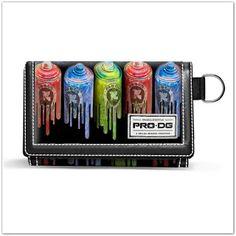Pinkbagoly: PRO-DG Colours tépőzáras pénztárca fiúknak - színe...