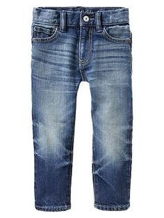 Skinny jeans from Gap, toddler boy