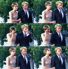 Naturally, fans treat Emma Watson and Rupert Grint as if they are indeed their lovable fictional characters. The fandom of 'Romione' has somehow made its way to the real world and fans expect Emma and Rupert to be a couple who do things together.