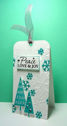 Peace, Love & Joy Stampin' Up!