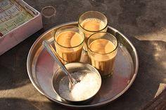 chai or milky (and sugary) tea!