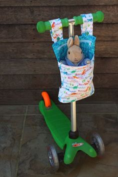 Scooter Buddy so cute perfect gift for young boys or girls