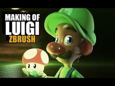 Un resumen de 7 horas de modelado, texturizado y render de Luigi inspirado en las ilustraciones de Luigi Lucarelli. Música Royalty Free by Audiomicro.com