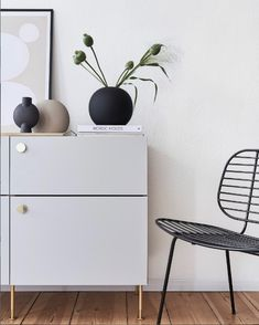 Ikea Ideas, Ikea Hacks, Scandinavian Style, My Room, Home Office, New Homes, House Design, Interior Design, Storage