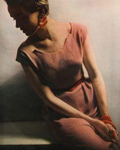 Photo by Lillian Bassman for Harper's Bazaar, 1953.