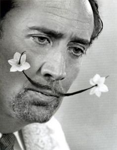 Nic Cage as Salvador Dali