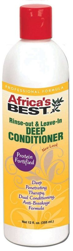 Africa's Best Rinse Out and Leave in Deep Conditioner 12 oz. (Pack of 6) -- Check out the image by visiting the link.