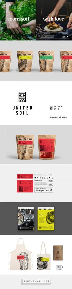 United Soil packaging design by Studio Otwarte - http://www.packagingoftheworld.com/2017/03/united-soil.html