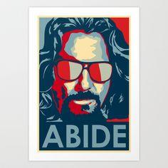 Abide Art Print by Zach Burns - $18.00