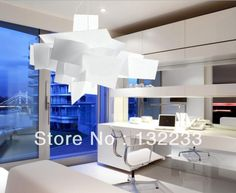 Weihnachts promotion 65cm moderne Urknall deckenleuchten lüster pendelleuchte lighting+free versand weiß