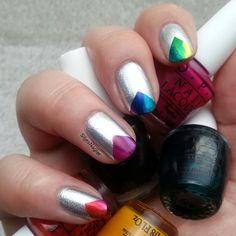 SiljesNaglar: OPI Color paints radient rainbow