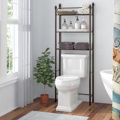 Bathroom Cabinet Over The Toilet Storage Rack Space Saver Shelf Organizer  Bronze   Pinterest   Toilet Storage, Shelf Organizer And Space Saver
