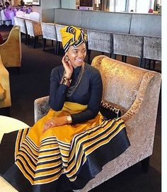 Xhosa Attire, African Attire, African Wear, African Dress, African Clothes, African Fashion Skirts, African American Fashion, African Print Fashion, Africa Fashion