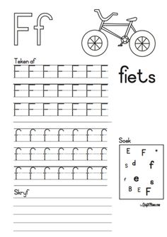 Preschool Lesson Plans, Preschool Learning Activities, Preschool Worksheets, Grade R Worksheets, Alphabet Worksheets, Teaching Posters, Alphabet For Kids, Kids Education, Continue Reading