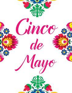 Cinco De Mayo Free printable