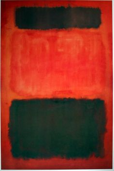 Mark Rothko, Untitled (Black and Brown in Reds), 1957