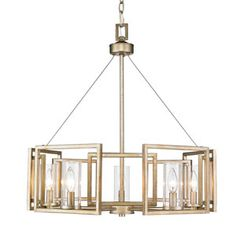 Golden Lighting Marco White Gold Modern/Contemporary Clear Glass Chandelier at Lowe's. Sleek angles, pure geometry, and industrial finishes synergize to make an ultra-modern statement in Golden Lighting Marco collection. A soft white gold Candle Chandelier, 5 Light Chandelier, Candelabra Bulbs, Chandeliers, Bronze Chandelier, Dinning Room Chandelier, Acrylic Chandelier, Pendant Lighting, Contemporary Chandelier