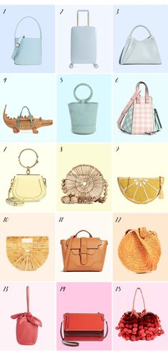 08354d87e92 All my favorite resort handbags // click through to shop! Crossbody Bag,  Satchel