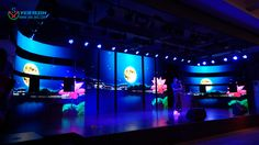 """Preliminary for the second Yestech """"Blue Dream"""" singing competition 50 square meters MG6 p3.9 indoor led display http://www.yes-led.com/en/products.html?pageIndex=2&proTypeName=Magic+Stage&proTypeID=164392"""