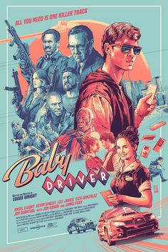 Baby driver by aurelio lorenzo screen print limited edition numbered detail feedback questions about award winning movie call me by your name retro poster bar cafe good quality printed drawing core decorative painting on aliexpress com alibaba group Kunst Poster, Poster S, Movie Poster Art, Poster Prints, Screen Print Poster, Iconic Movie Posters, Cinema Posters, Iconic Movies, Best Posters