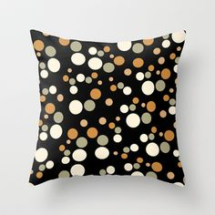 circle patterned Throw Pillow by aticnomar - $20.00 Circle Pattern, Throw Pillows, Toss Pillows, Cushions, Decorative Pillows, Decor Pillows, Scatter Cushions