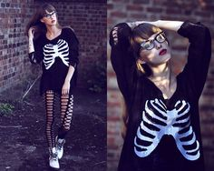 Oh somewhere deep inside of these bones... (by Michalina Z.) http://lookbook.nu/look/3990144-Oh-somewhere-deep-inside-of-these-bones  (This looks like something I'd wear...)