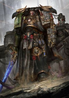 Deathwatch: The bling arm crew by theDURRRRIAN on @DeviantArt