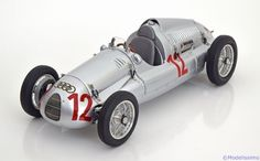Auto Union Typ D, Winner GP France 1938/39, Muller. CMC, 1/18, No.M-089, Limited Edition 1500 pcs. 220€