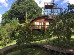 Hotel Mirante do Gavião, na Amazônia - Paisagista Clariça Lima
