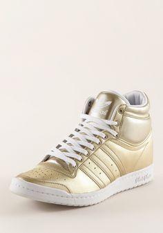 Adidas Sneaker Gold Weiß