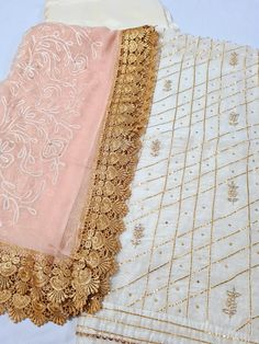 Embroidery Suits Design, Embroidery Designs, Punjabi Suits, Salwar Suits, Indian Designer Suits, Kurti Designs Party Wear, Summer Ideas, Palazzo Pants, Pants Outfit