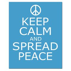 Spread peace and love wherever you go