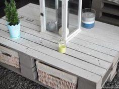 DIY: Une table basse en palette • Hellocoton.fr