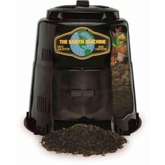 Compost Bin Outdoor Backyard Composter Barrel Food Composting Soil Conditioner #TheEarthMachine