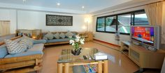 Villa Jasmine provide full entertainment, the living room is fully equipped with entertainment showcase consisting of large flat sized flat screen television, CD & DVD player with surround sound system.